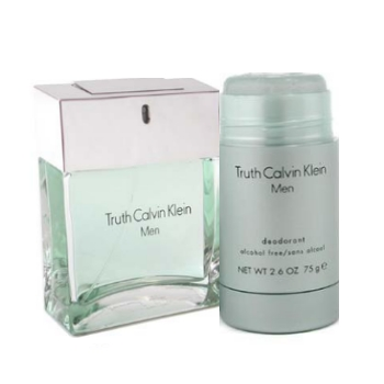 Truth for Men by Calvin Klein, 2pc Gift Set (includes 100ml EDT & 75ml alcohol free deodorant)