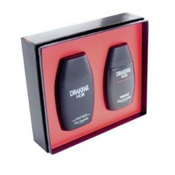 Drakkar Noir by Guy Laroche 2pc Gift Set (Includes 50ml EDT & 50ml Aftershave)