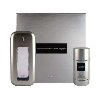 French Connection United Kingdom Him 2pc Gift Set (Includes 100ML EDT & 75gm Deodorant Stick)