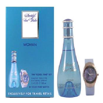 Cool Water Woman by Davidoff 2pc Giftset (includes 100ml EDT & Watch)