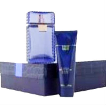 Versace Man, 2pc Giftset(includes 100ml EDT & 100ml Foaming Gel for Body & Hairl)
