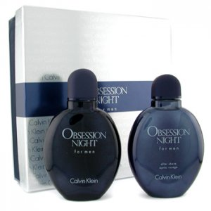 Obsession Night for Men by Calvin Klein, 2pc Giftset (includes 125ml EDT & 125ml Aftershave Lotion)